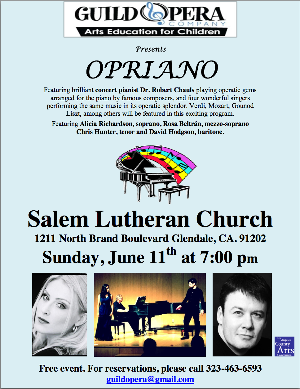 Opriano Concert